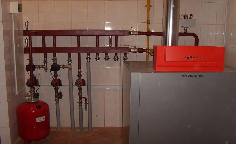 Функцииобвязки газовых котлов Viessmann
