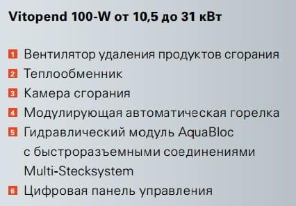 Ремонт котлов Viessmann Vitopend 100